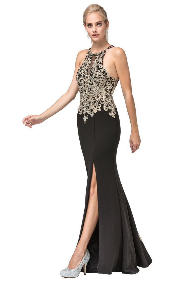 Dancing Queen 2836 Dress Black