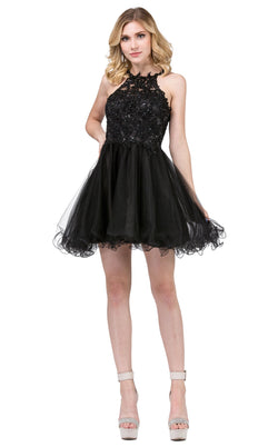 Dancing Queen 3004 Dress Black