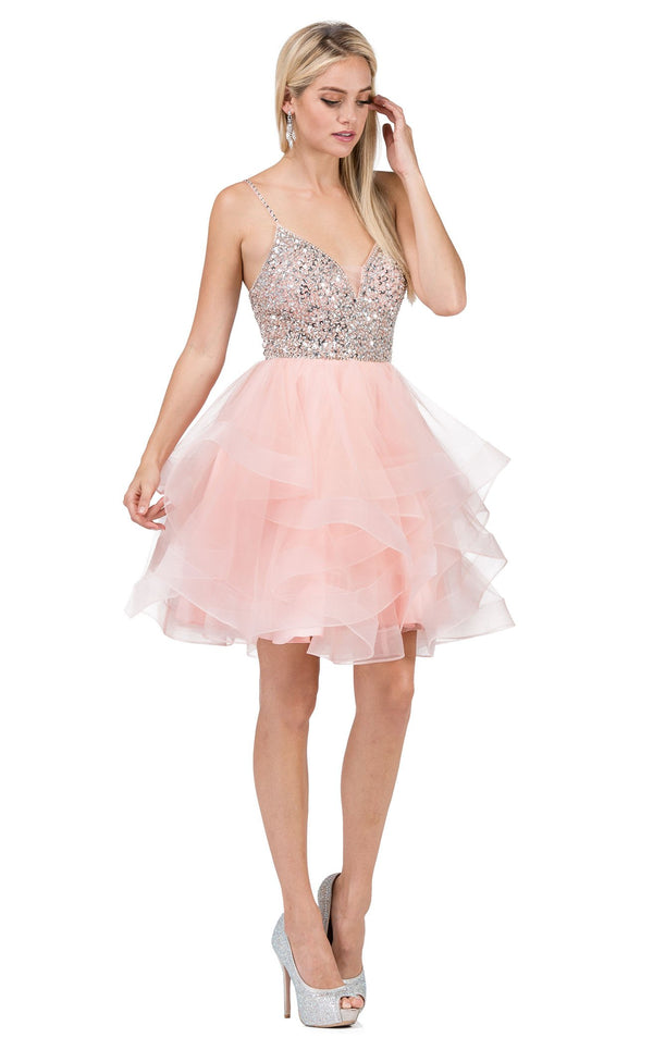 Dancing Queen 3050 Dress Blush