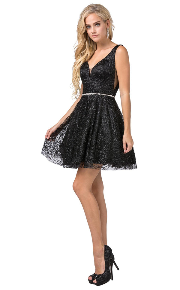 Dancing Queen 3103 Dress Black