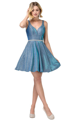 Dancing Queen 3142 Dress Blue