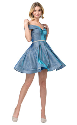 Dancing Queen 3147 Dress Blue
