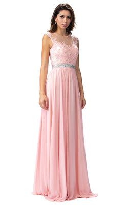 Dancing Queen 9400 Dress Blush