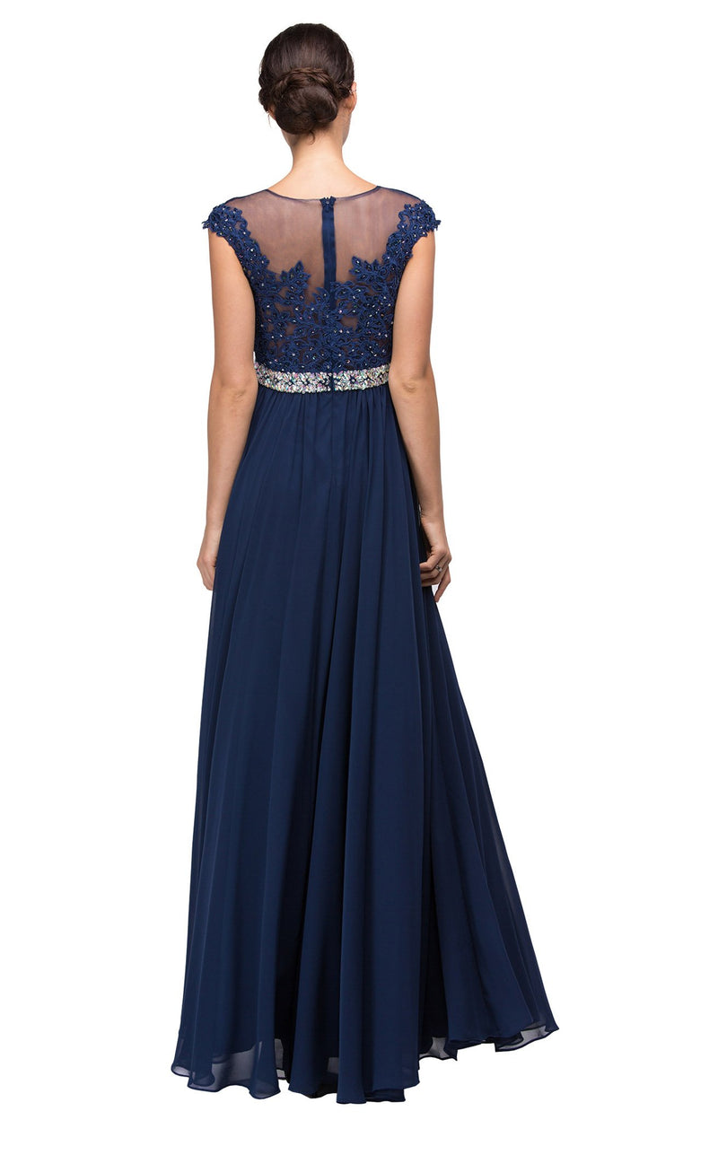 Dancing Queen 9400 Dress Navy