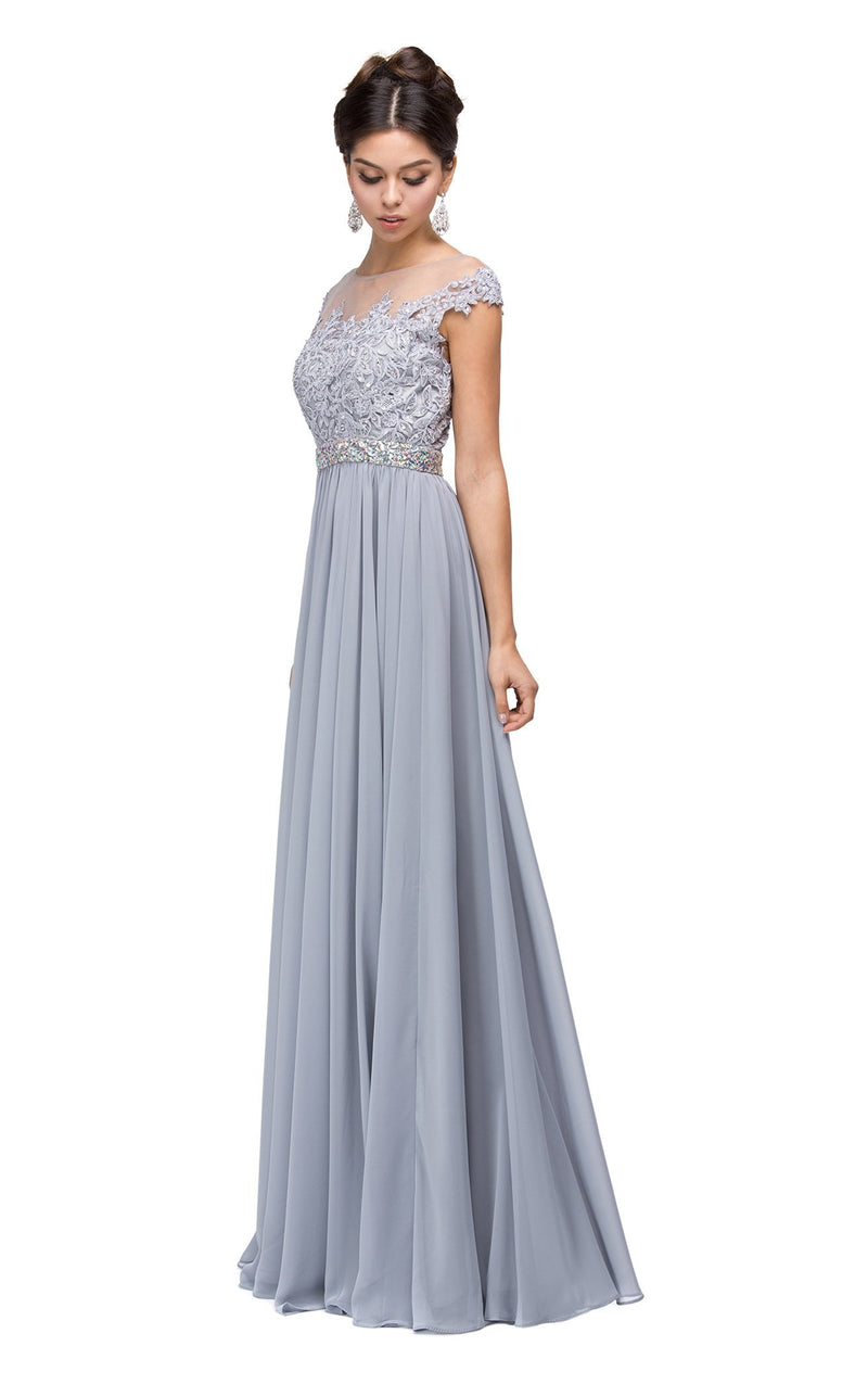 Dancing Queen 9400 Dress Silver