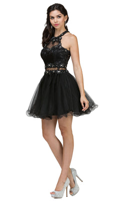 Dancing Queen 9631 Dress Black