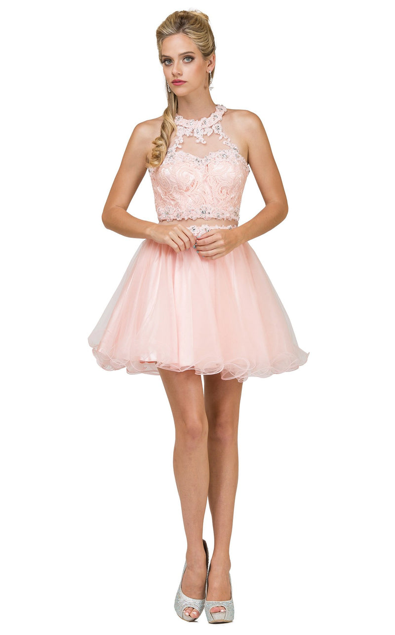 Dancing Queen 9631 Dress Blush