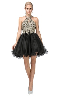 Dancing Queen 9992 Dress Black
