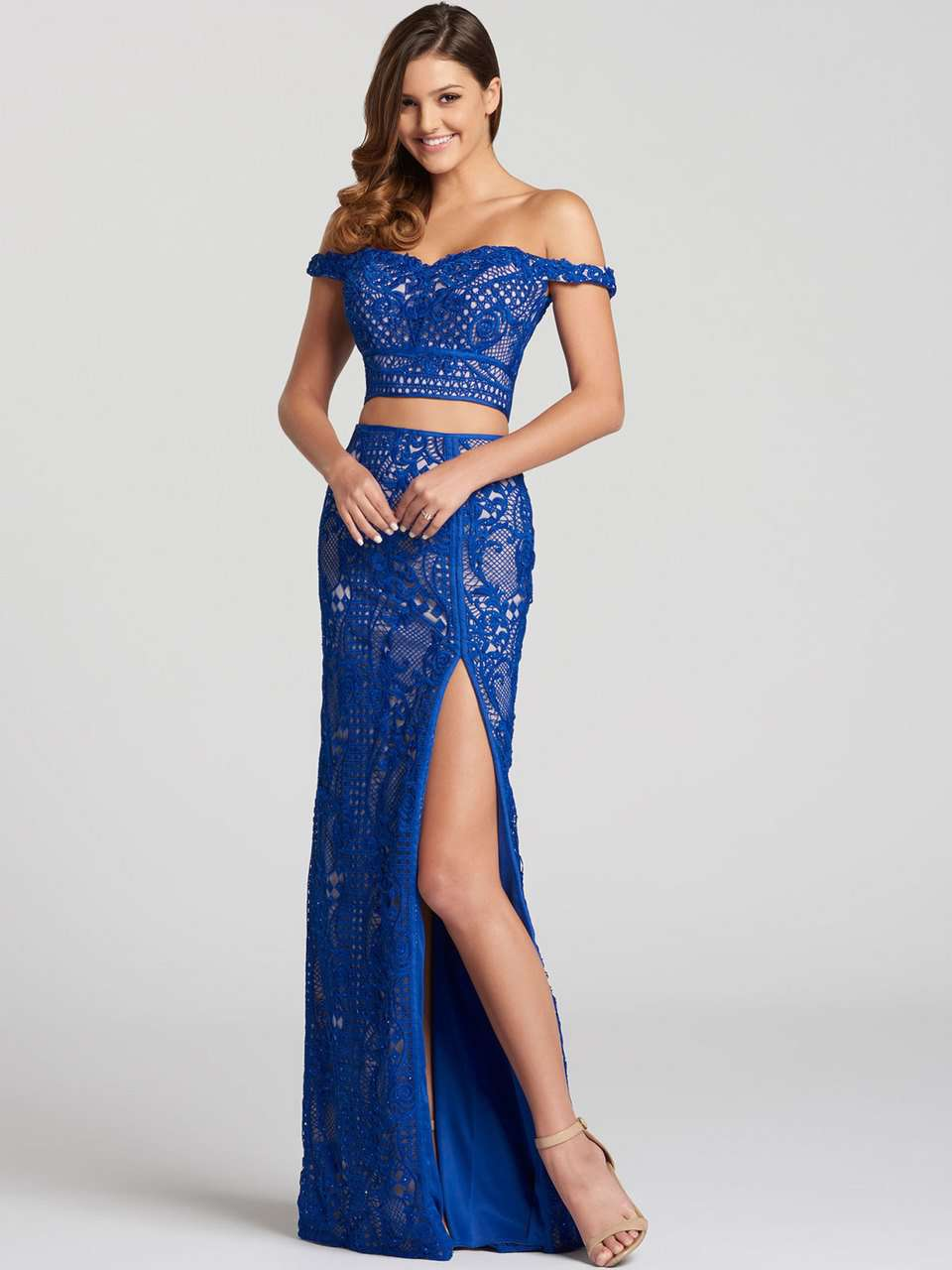 Ellie Wilde EW118059 Royal Blue