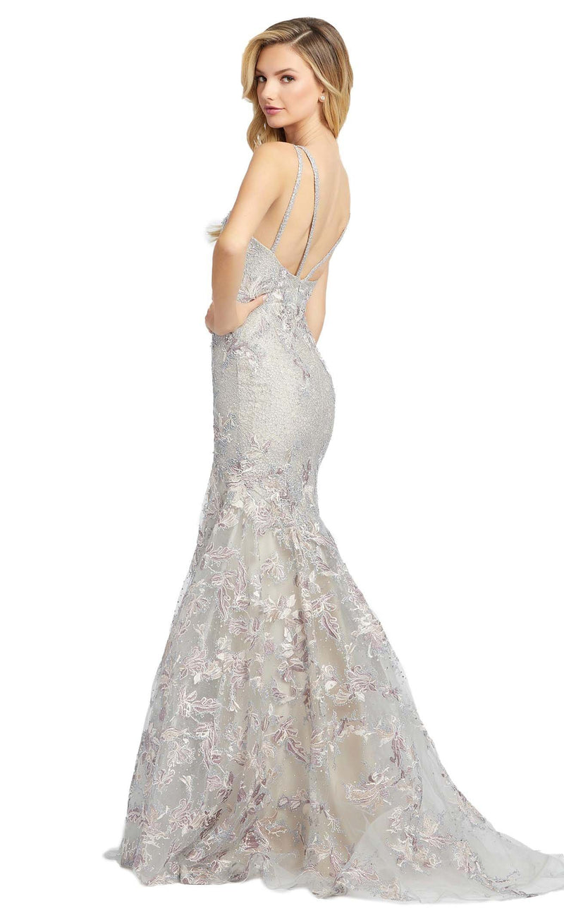 Mac Duggal 20146D Dress Platinum Multi