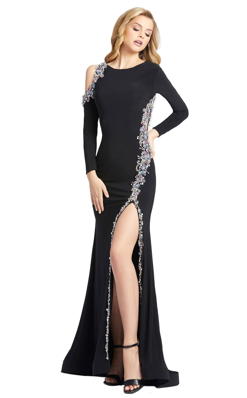 Mac Duggal 66769D Dress Black Multi