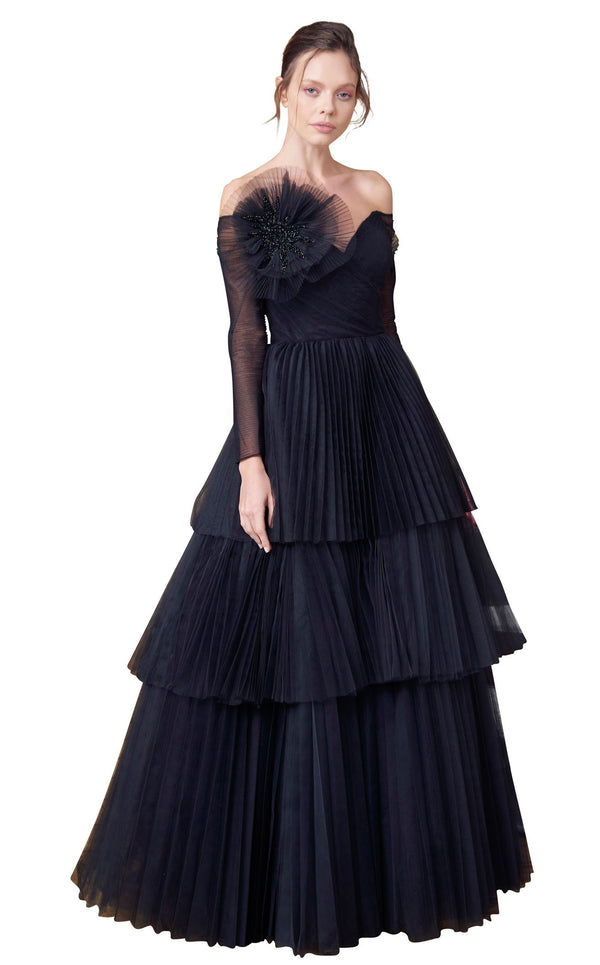 MNM Couture N0342 Black