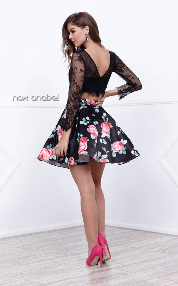 Nox Anabel 6223 Dress Floral-Patterns