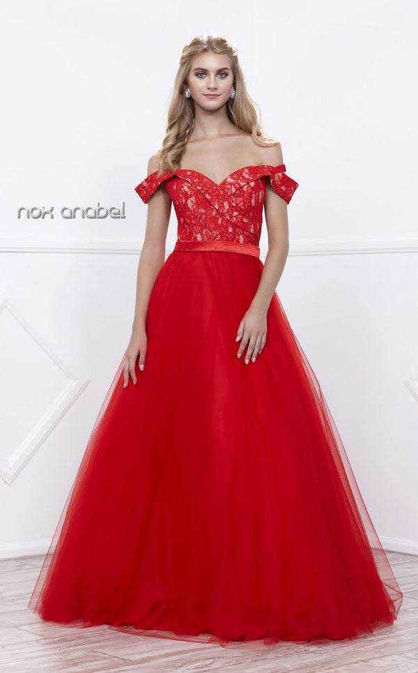 Nox Anabel 8372 Dress Red