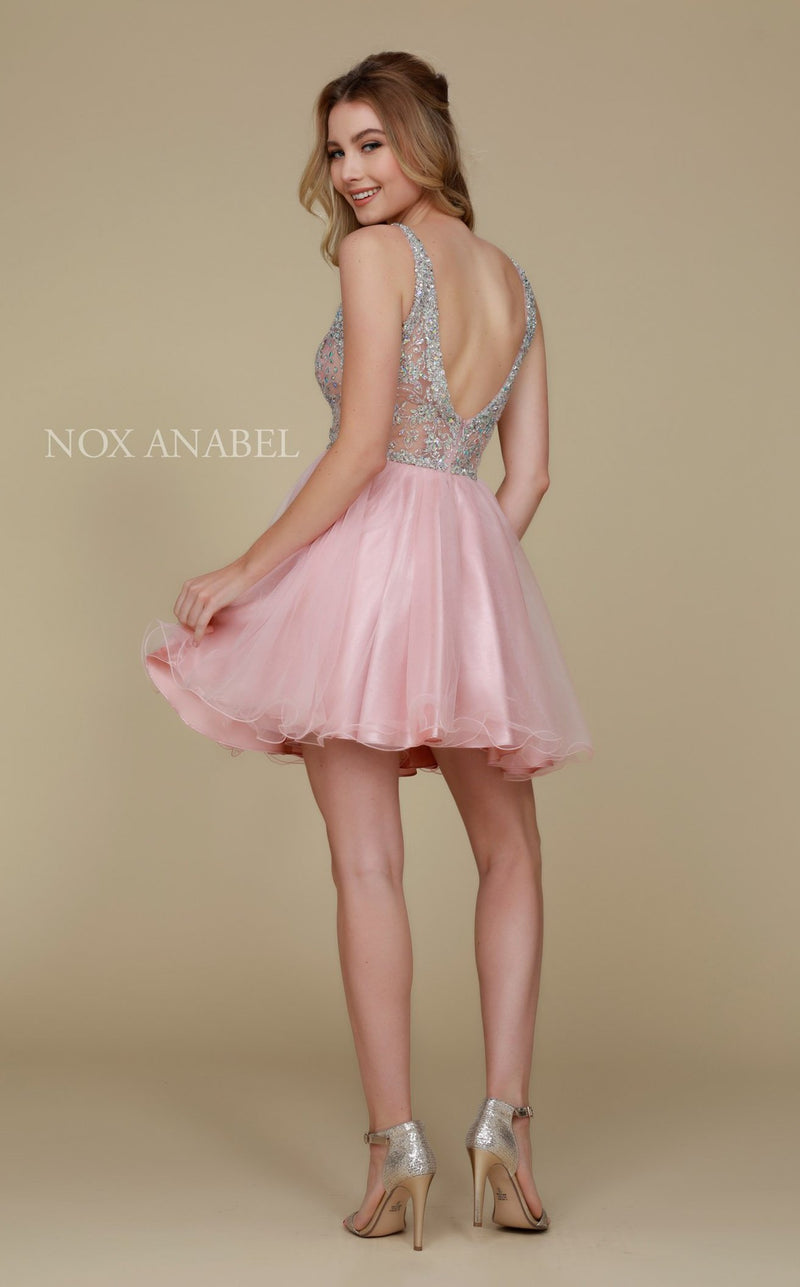 Nox Anabel G637 Dress Blush
