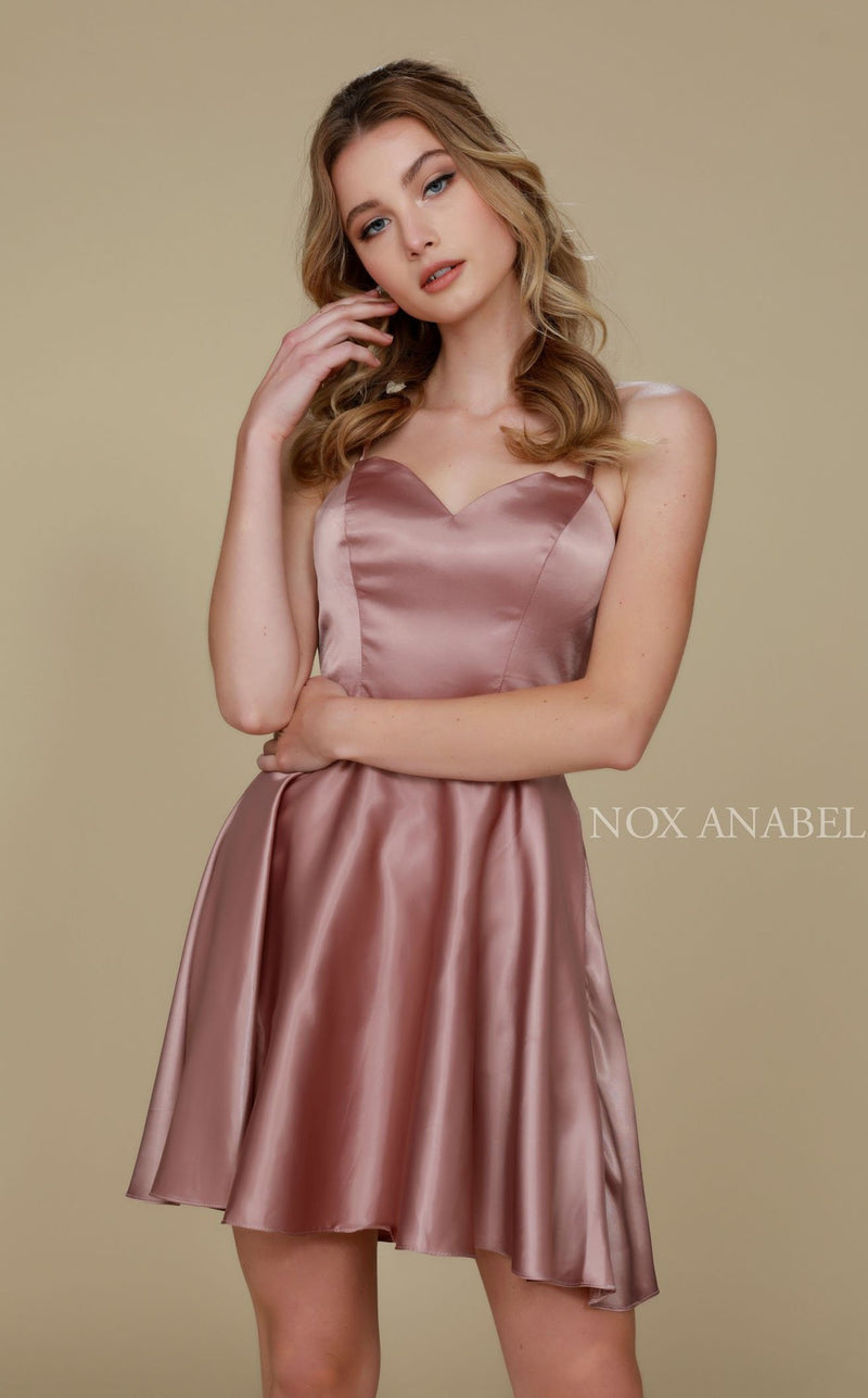 Nox Anabel M658 Dress Tan
