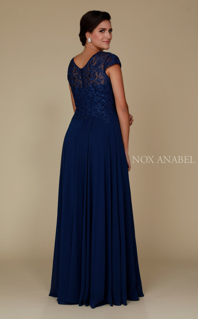 Nox Anabel Q511 Dress Navy-Blue