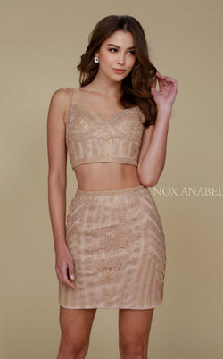 Nox Anabel R650 Dress Gold