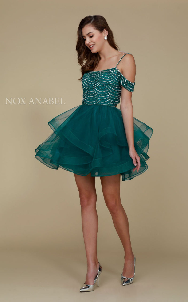Nox Anabel T668 Dress Green