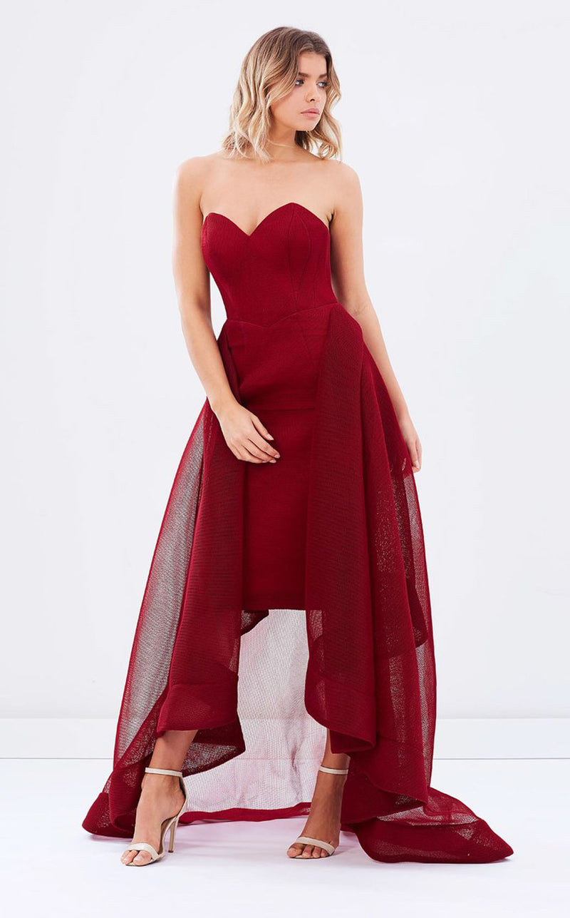 Bariano B25D48 Gown
