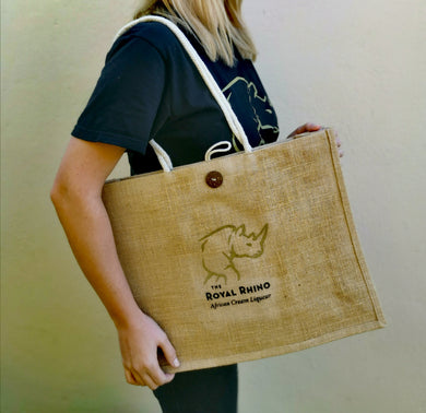 The Royal Rhino Tote Bag