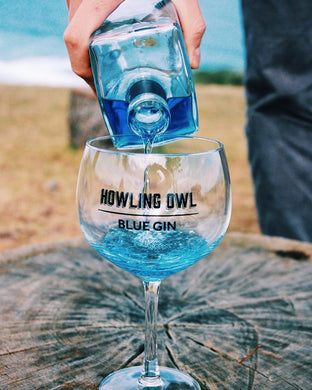 Howling Owl Gin Glass Set of 6