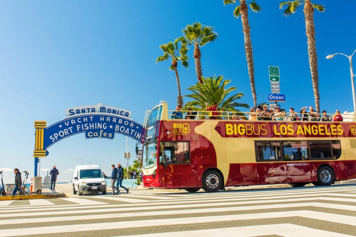 Los Angeles Big Bus Hop-On Hop-Off Tours (Open-Top)
