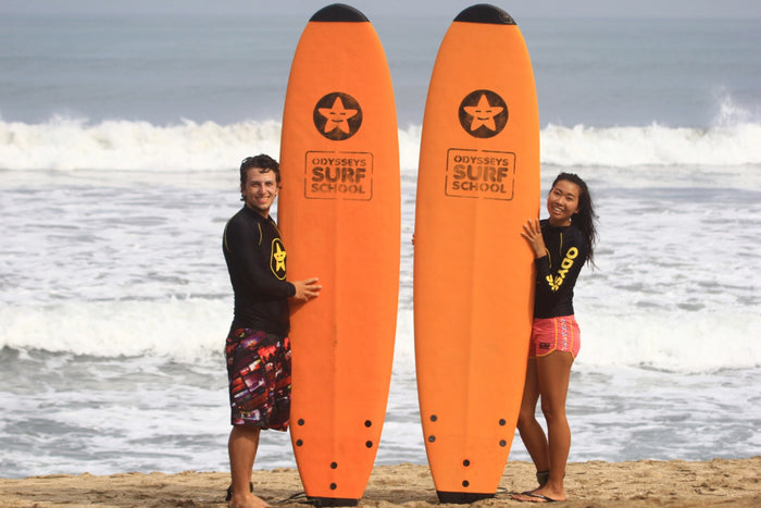 Odyssey Surf School - Surfing Lessons