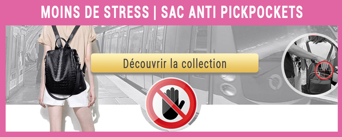 collection sacs anti pickpockets