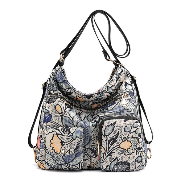 sac-a-main-convertible-sac-a-dos-Flowers-motif1