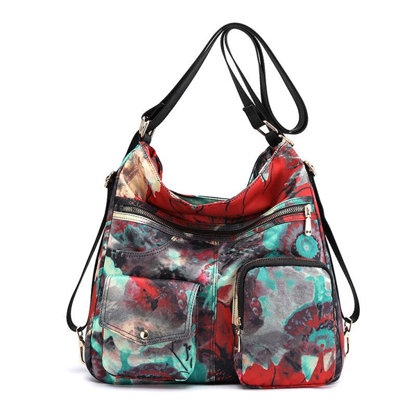 sac-a-main-convertible-sac-a-dos-Flowers-motif2