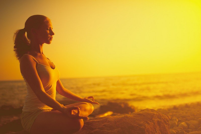 how to deal with stress with meditation