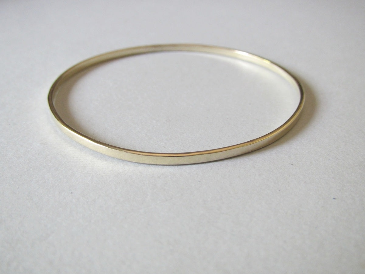 Brass Flat Bangle - Yours & Mine Online Store South Africa