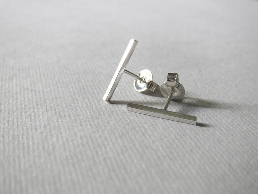 Silver Bar Studs - Yours & Mine Online Store South Africa