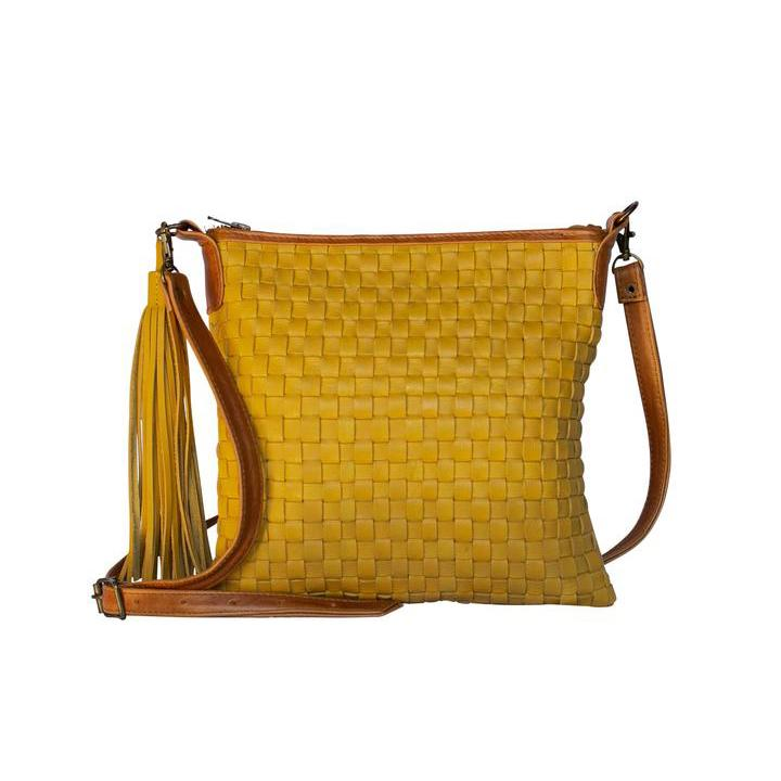 Alexa Bag in Mustard - Yours & Mine Online Store South Africa