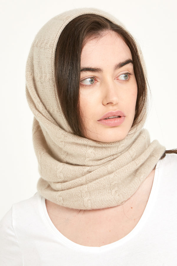 Cashmere Cable Snood