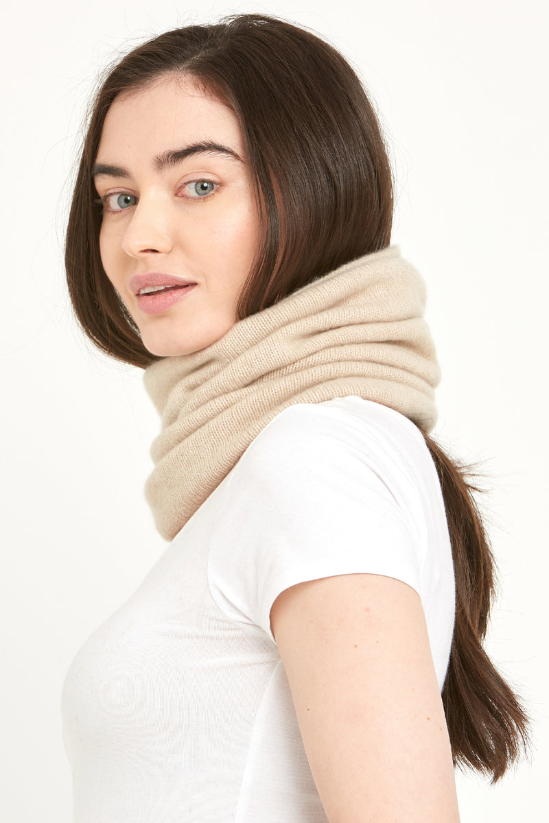 Plain Cashmere  Snood