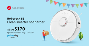 Live Smarter with Roborock Amazon Prime Deals
