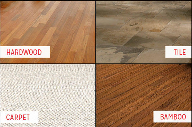 all types of floor