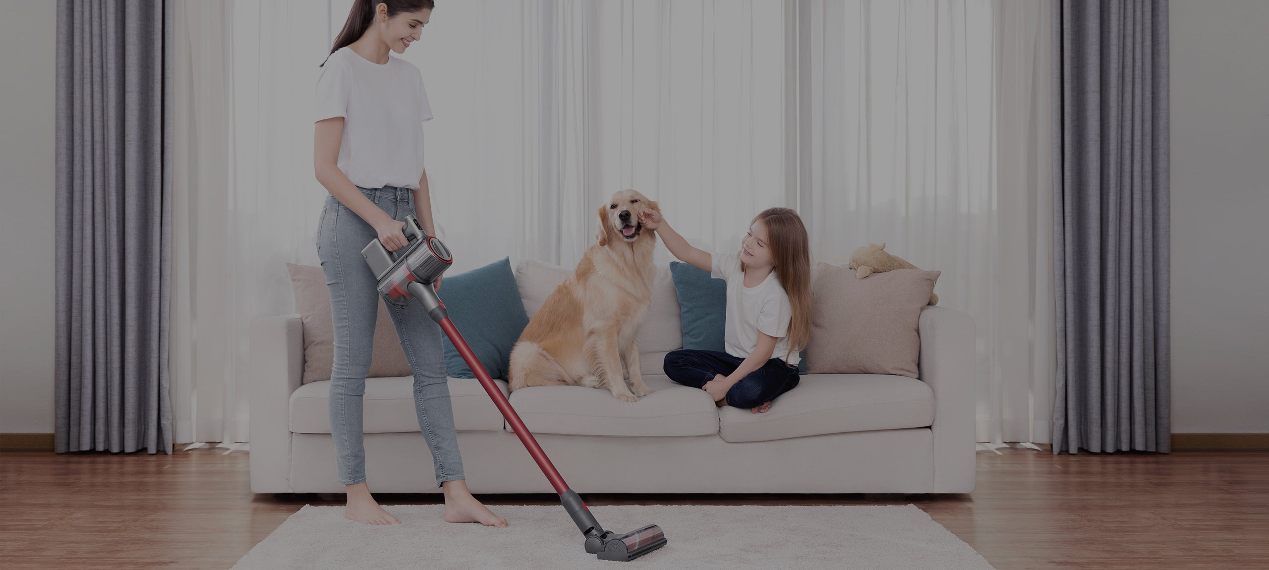 Roborock H6 helps clear away microscopic allergens everywhere in your home