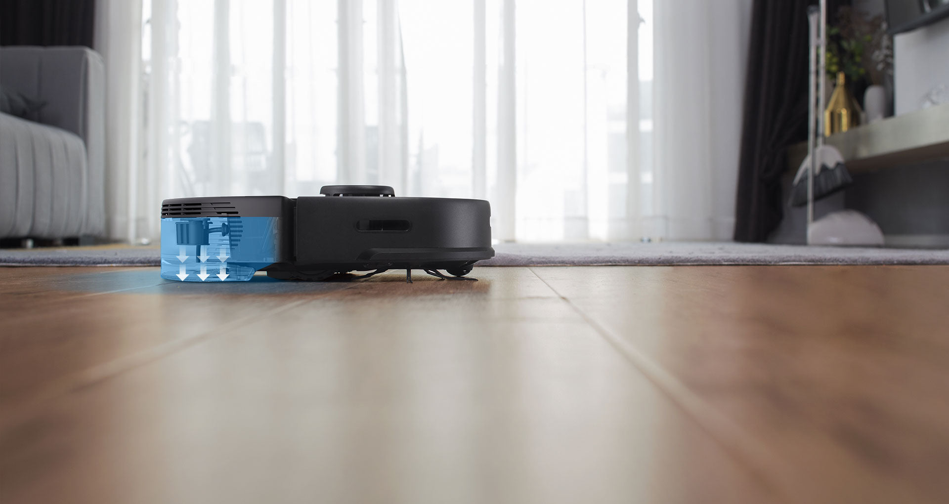 Roborock S5 Max even cleaning