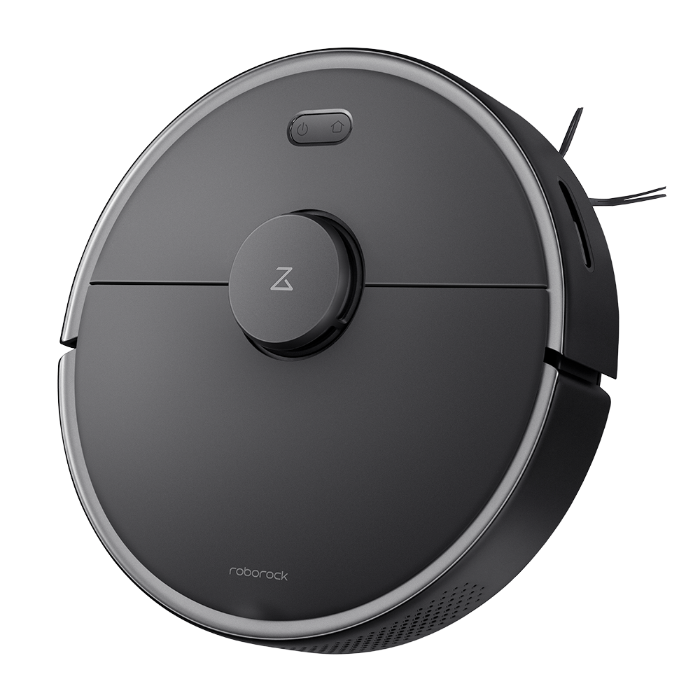 Roborock S4 Max robot vacuum cleaner right-side view