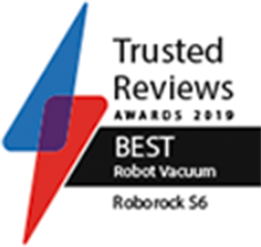 Roborock s6 was awarded the best robot vacuum by Trusted Reviews 2019