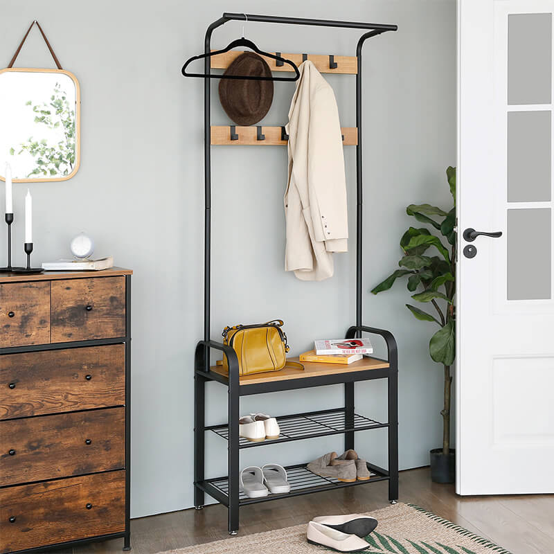 Hallway Entry Coat Rack