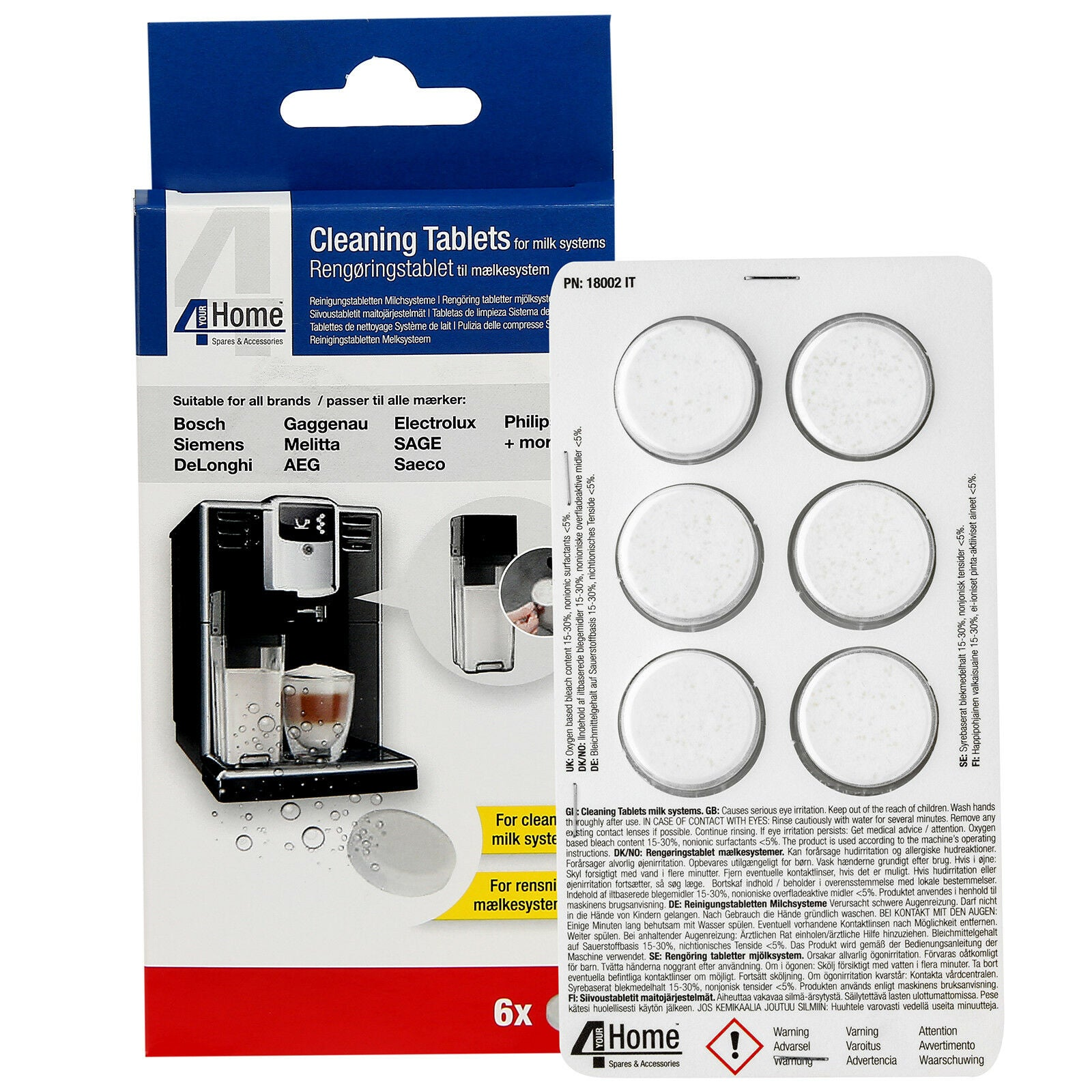 Coffee Machine Descaler Tablets