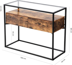 Glass Sideboard