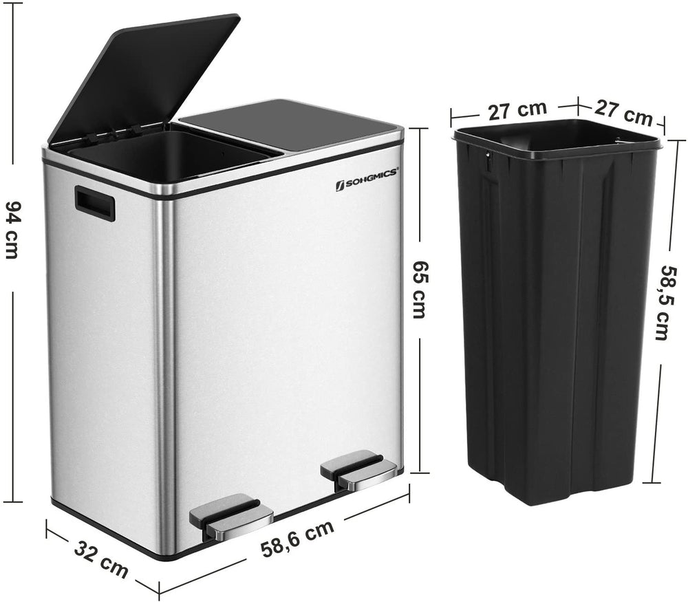 Load image into Gallery viewer, 30L Double Bin