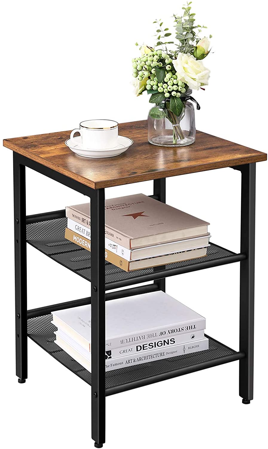 Industrial Side Table