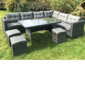 Blessington 10 Piece Rattan Set