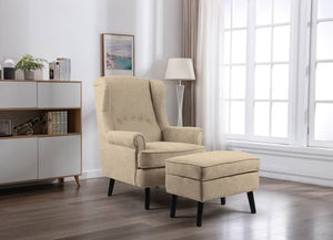 Jenson Armchair with Footstool